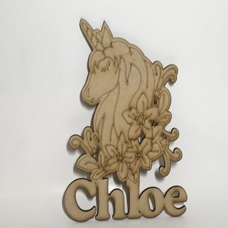 Personalised Unicorn with Name