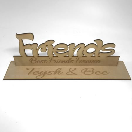 Best Friends Freestanding Sign