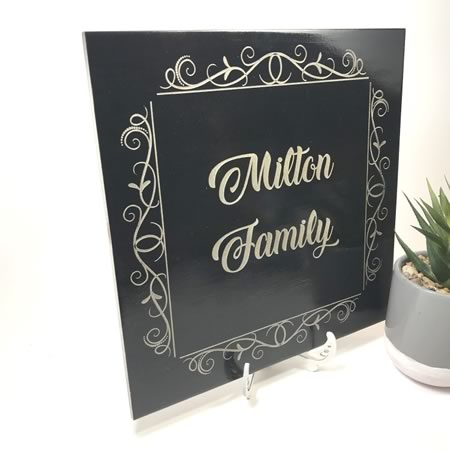 Family Name Tile