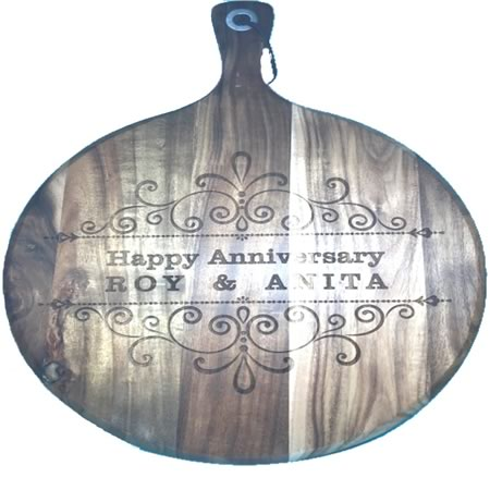 Chopping Board - Anniversary