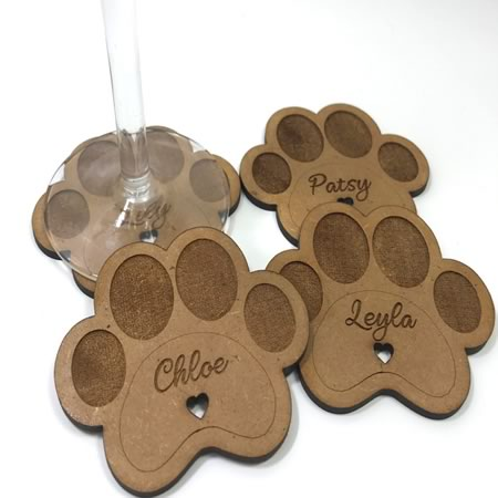 Customised Animal Drink Coasters