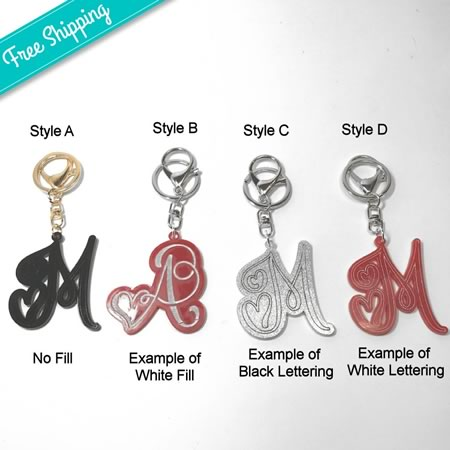 Fancy Key Rings