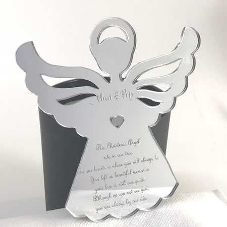 Memorial Ornament - Christmas Angel