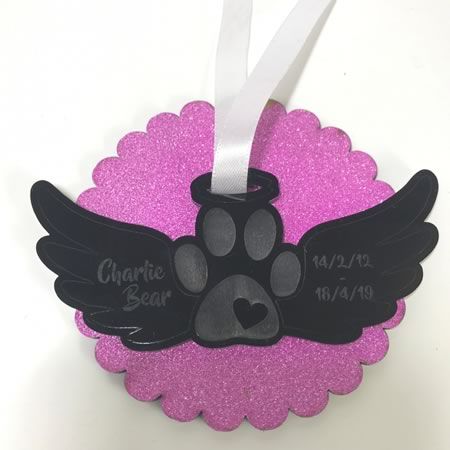 Paw Print with Wings