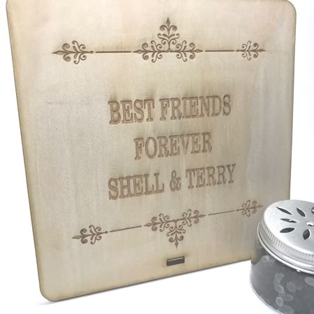 Best Friends Forever Customised Plaque
