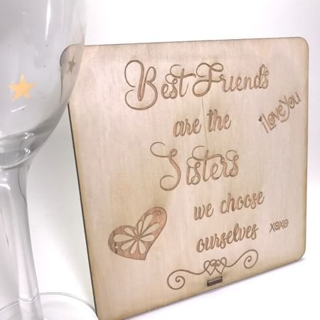 Best Friends Plaque