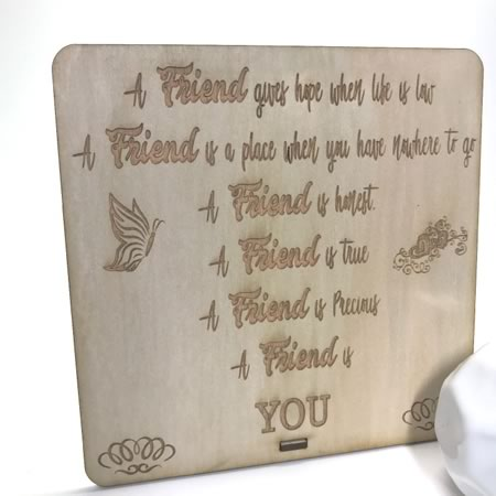 Friend Plaque