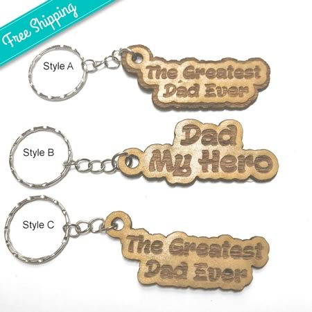 Dad Key Rings