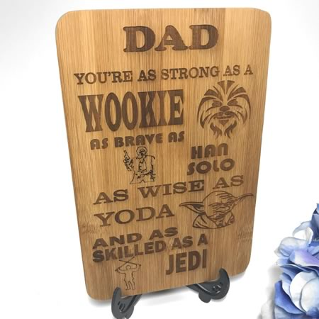 Dad Mini Chopping Board