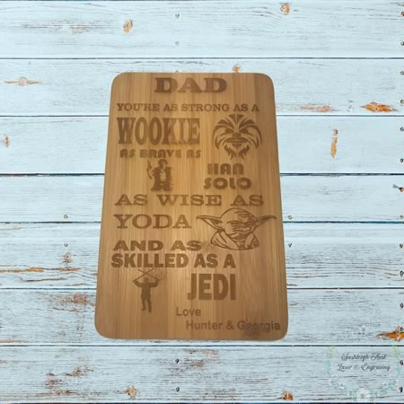 Chopping Board - Mini Dad Gift