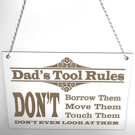 Dads Tool Rules