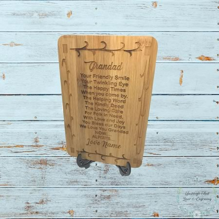 Chopping Board - Mini Grandad Board Gift