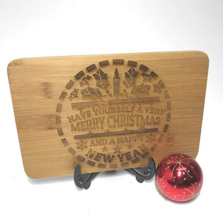 Chopping Board - Mini Merry Christmas