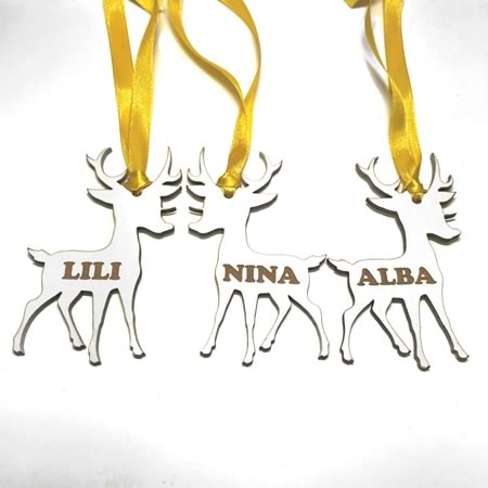 Christmas Ornament - Reindeer