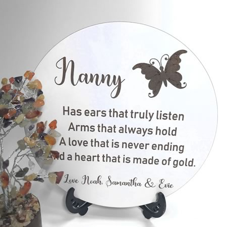 Nanny Plaque Personalised