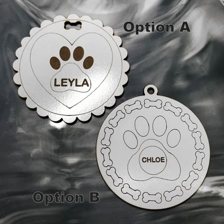 Personalised Pet Christmas Ornaments