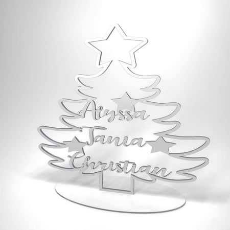 Christmas Tree Personalised