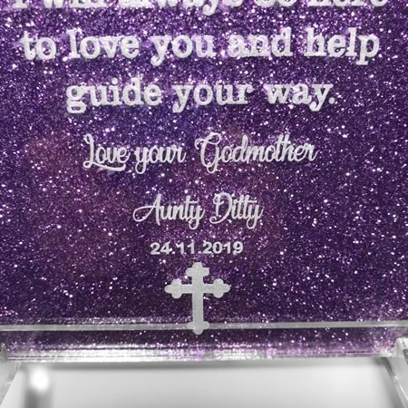 Baptism Plaque Personalised