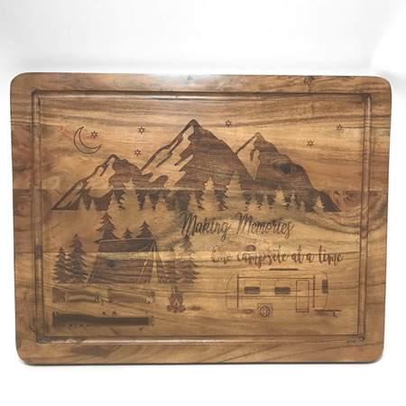 Chopping Board - Making Memories Camping