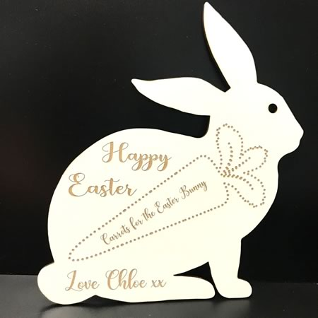Easter Bunny Plate - Personalised