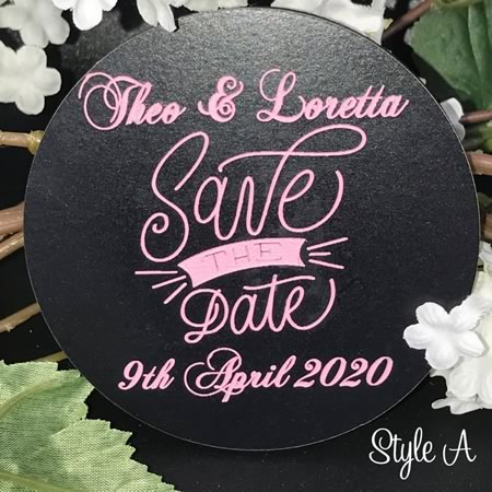 Save The Date Discs