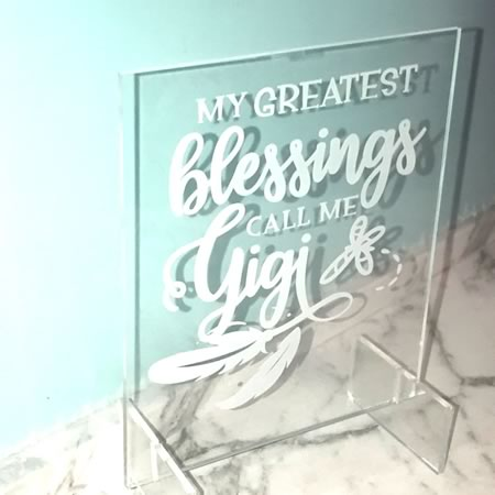 Grandmother Gift - My Greatest Blessings