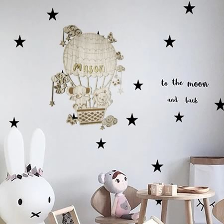 Come Fly with Me Bedroom Decor