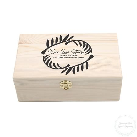 Our Love Story Keepsake Box