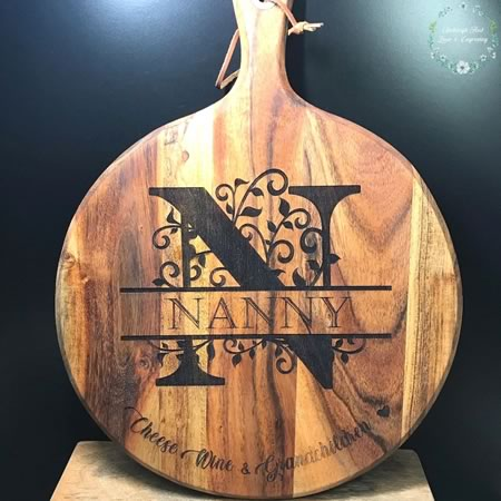 Personalised Chopping Board for Grandmother