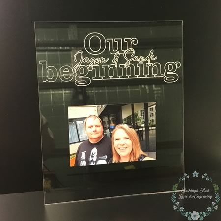 Our Beginning Plaque