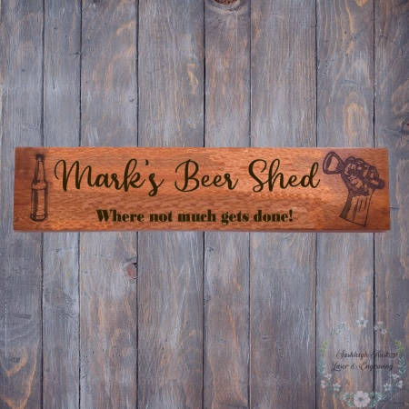 Beer Shed Sign