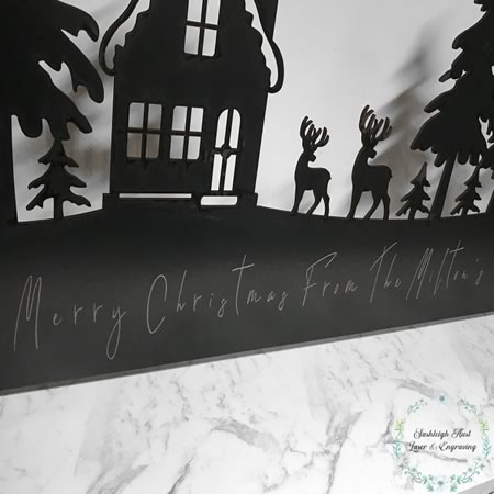 Christmas Scene Personalised