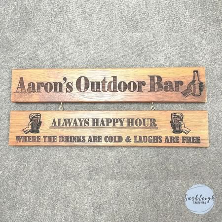 Outdoor Bar Sign