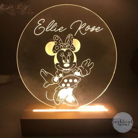 Minnie Mouse LED Night Light