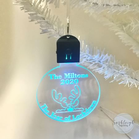 LED Ornament - The Year of Lockdown