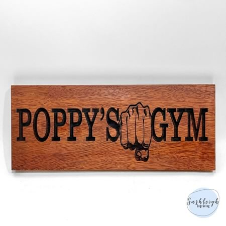 Gym Outdoor Sign